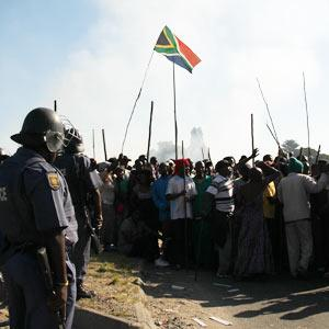 Kya Sands Protestors