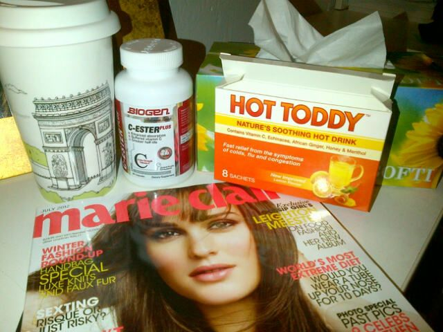 Things I need to get over my cold