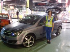 At the Castrol Motor Show with your Astra