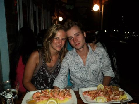 New Year's Eve, Prawns at Larry's