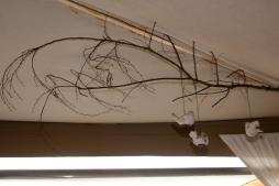 We all loved this simple idea of a birds on a bare branch