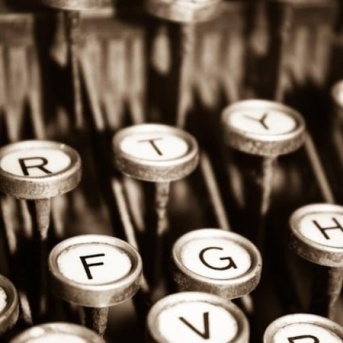 LOVE the keys on a typewriter